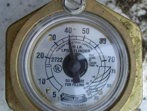 propane volume and temperature correction