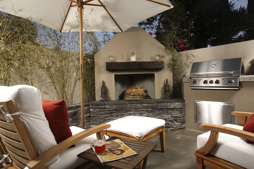 upgrade your outdoor living space using propane